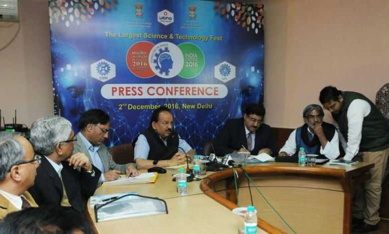 IISF to focus on Science for the Masses: Dr. Harsh Vardhan