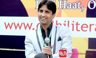 Dr. Kumar Vishwas at Delhi Lit Fest, 2016