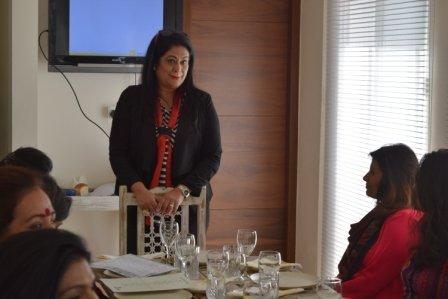 Image consultant Renu Mehra