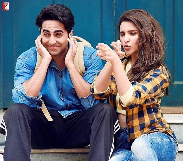 Parineeti and Ayushmann