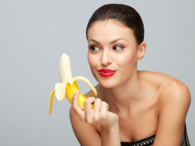 People all the world around eat banana peels for their health