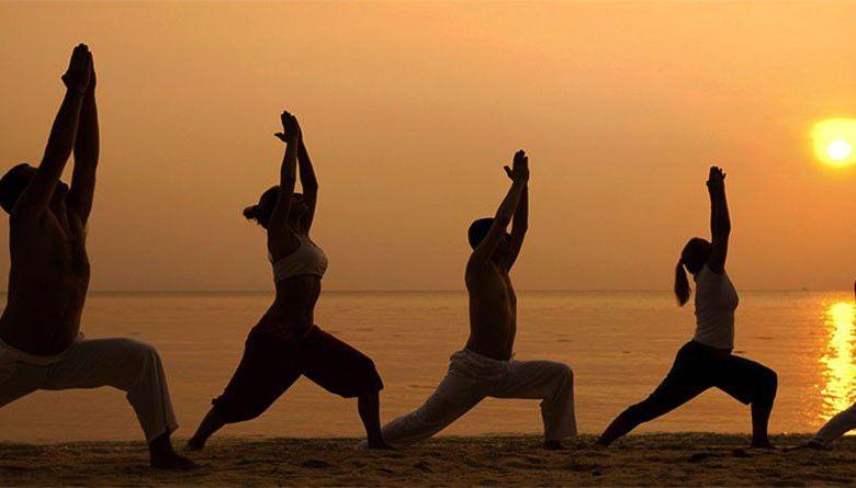 Yoga position