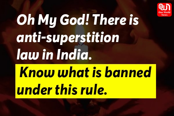 anti superstition law
