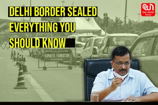 delhi border seal