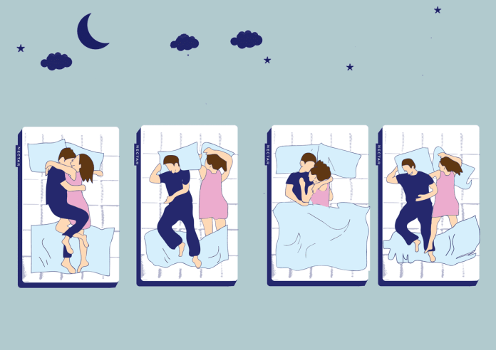 sleeping position and relationship