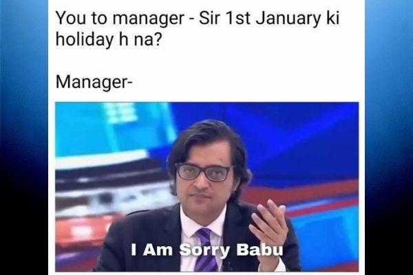 sorry babu arnab