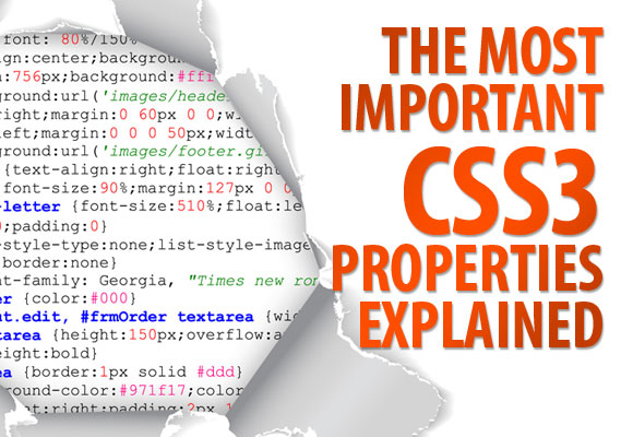 css The Most Important CSS3 Properties Explained