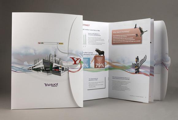 40 Unique And Beautiful Examples Of Brochure Design