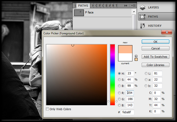 image-06 Working with Photoshop's Blending Modes to Color a Black and White Photo