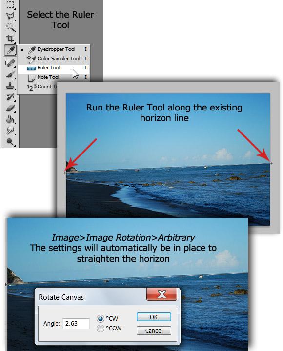 3-straighten-horizon 10 Photoshop Quick Tips to Improve Your Workflow