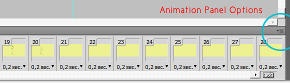 animation-options Creating Rotoscoping Animation with Photoshop