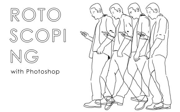 rotoscoping-cover Creating Rotoscoping Animation with Photoshop