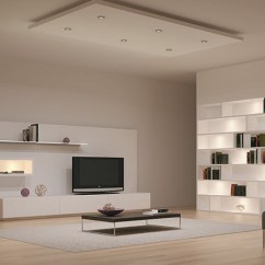 Led Lighting For Living Room White Tile Floors In 30 Creative Interior Designs 13