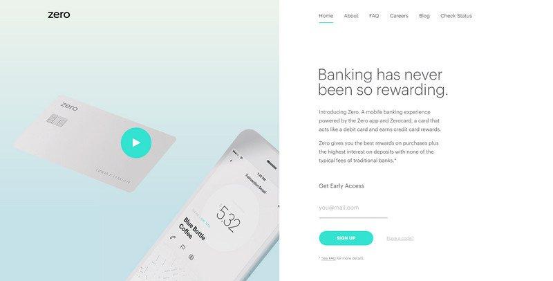 10-Zero 20 Beautiful and Stylish Startup Web Designs