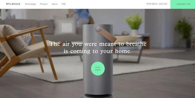 15-Molekule 20 Beautiful and Stylish Startup Web Designs