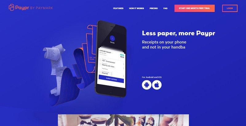 17-Paypr 20 Beautiful and Stylish Startup Web Designs