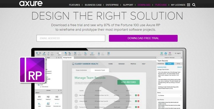 axure The Importance Of Wireframes In Web Design And 9 Tools To Create Wireframes