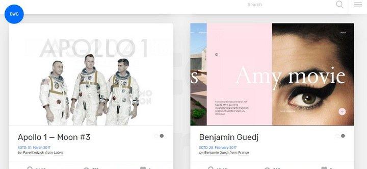 best-website-gallery 15 Amazing CSS Web Design Galleries