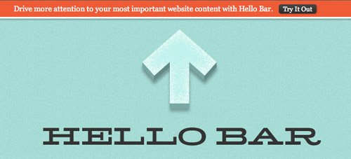 hello-bar 7 WordPress Plugins to Increase Your Website Conversion Rates