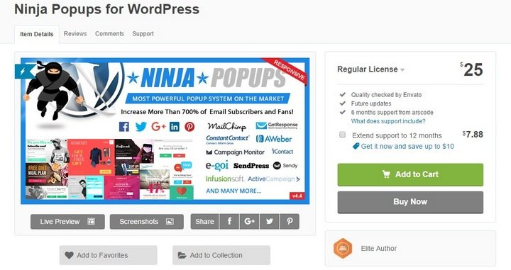 ninja-popups 8 Best WordPress Mailing List Plugins For Getting More Subscribers