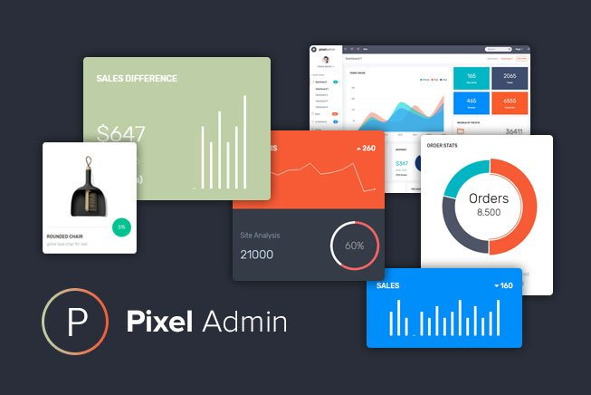 pixel-admin-thumb-peview1 WrapPixel Coupon – 25% Discount