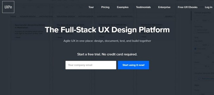 uxpin The Importance Of Wireframes In Web Design And 9 Tools To Create Wireframes