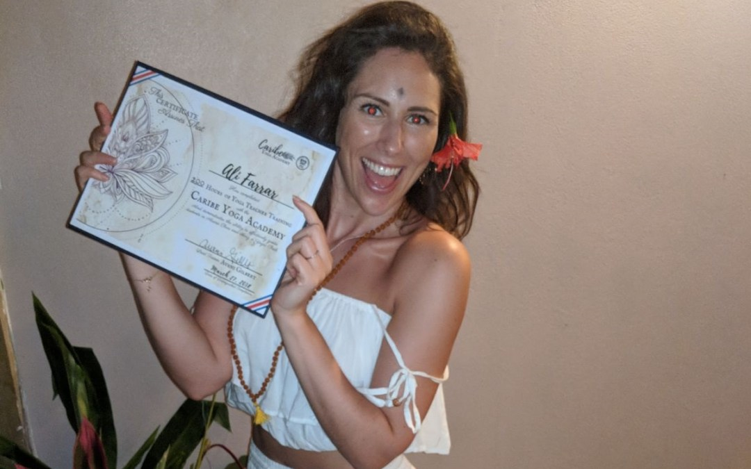 A life less ordinary:  How saying no to alcohol helped me find true success by Ali Roff