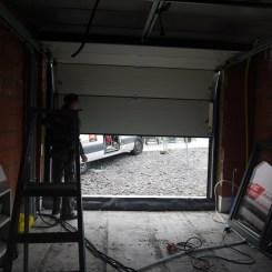 Test porte garage