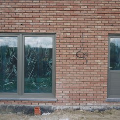 Porte buanderie et porte cuisine