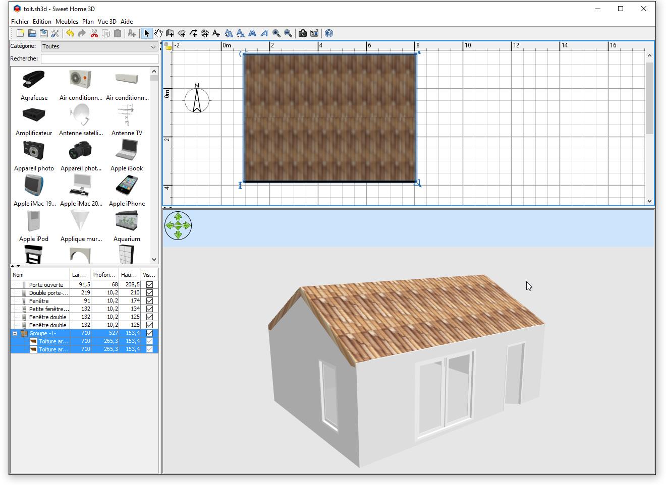 Faire un plan de sa maison superb logiciel pour dessiner - Logiciel pour faire sa maison ...