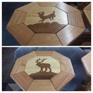custom deer table