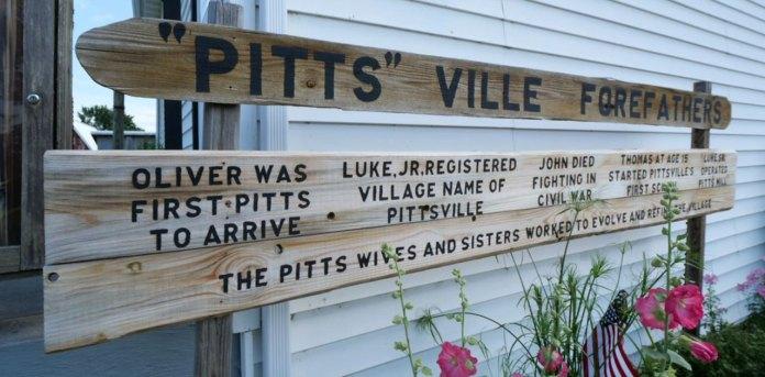 origins of pittsville wi