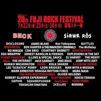 FUJI ROCK FESTIVAL'16 第5弾ラインナップ発表