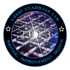 UFOP Starbase118 Writing Improvement Month 2013