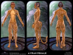 Avrian female