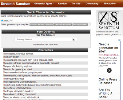 Seventh Sanctum screenshot