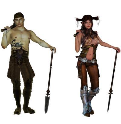 Some fantasy dudes
