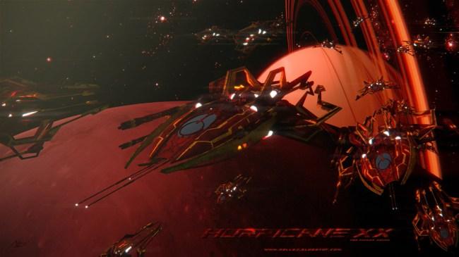 Hurricane spaceship