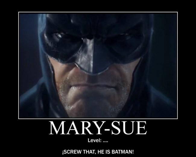 Mary Sue level