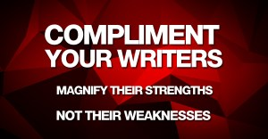 compliment your writers