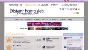 distant fantasies screenshot