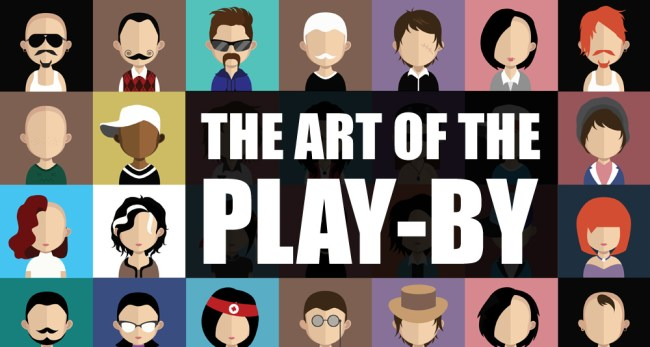 Art of the play -by (some faceclaims)