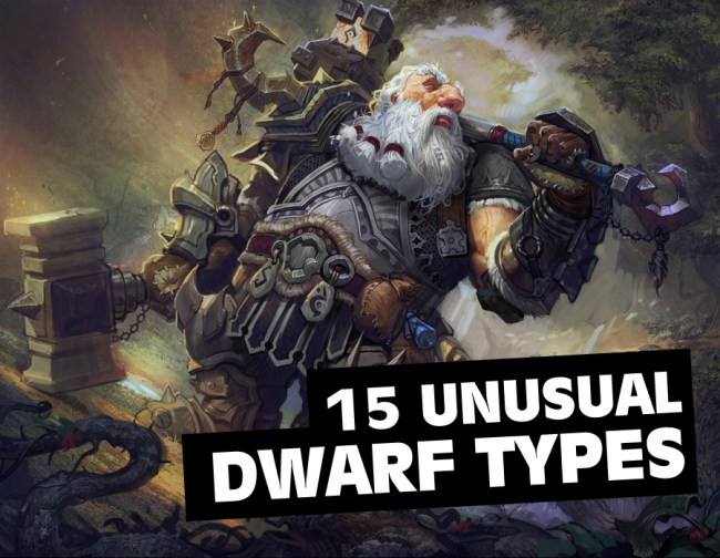 unusual dwarf types