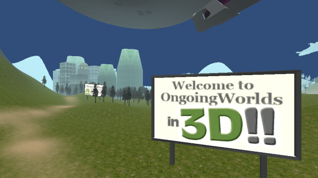 3D ongoingworlds welcome