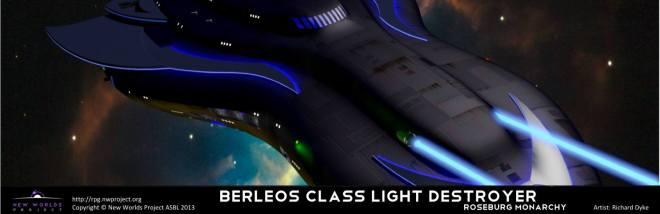 Berleos class light destroyer
