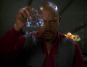 "Benjamin Sisko in ""In the Pale Moonlight"""
