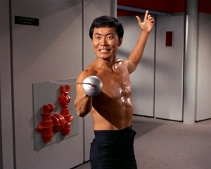 "Sulu from ""The Naked Time"""