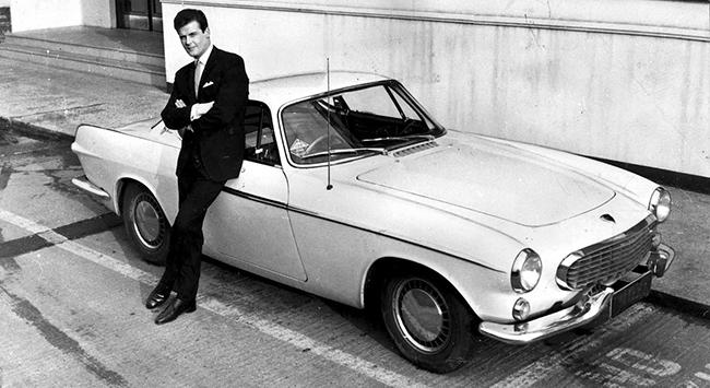 El Santo - Volvo P1800 - Roger Moore