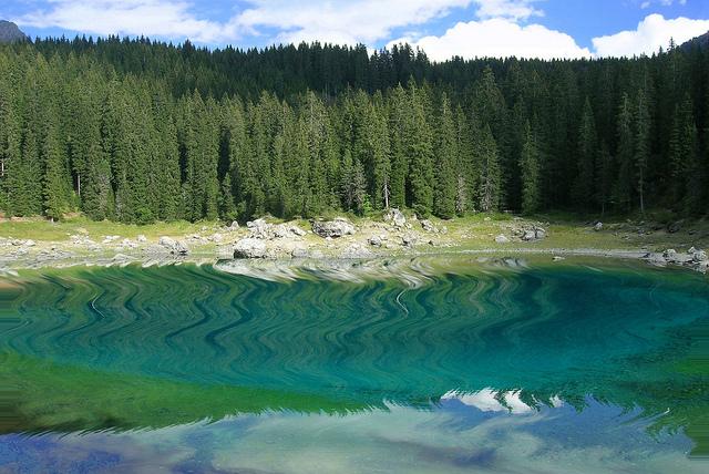ruta Dolomitas Lago di Carezza