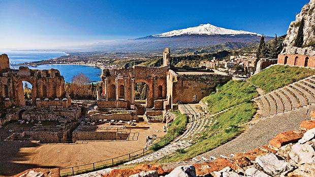 Taormina playas de sicilia